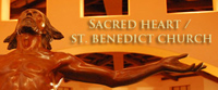 Sacred Heart and Saint Benedict Parish web site link